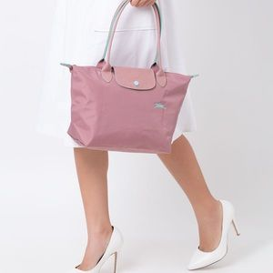 Longchamp Le Pliage Club Tote Bag Small - Pink